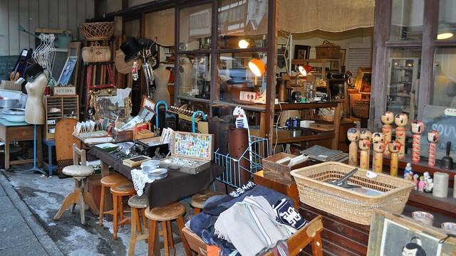 Bric-a-brac, Nikkō-shi, Tochigi Prefecture, Japan