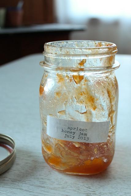 apricot honey jam.