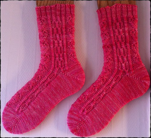 Light of Love Socks by Beatrixknits