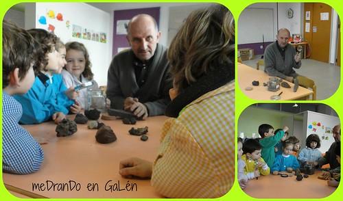 Visita Santi proxecto volcáns 2