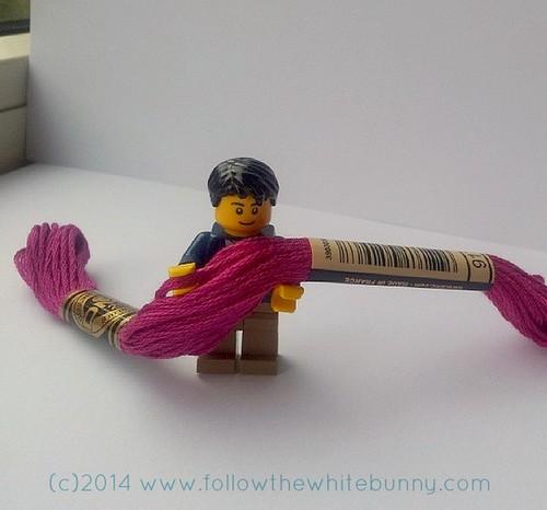 lego man floss