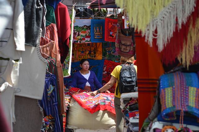 Sábado de feria 7 - Otavalo - Ecuador.