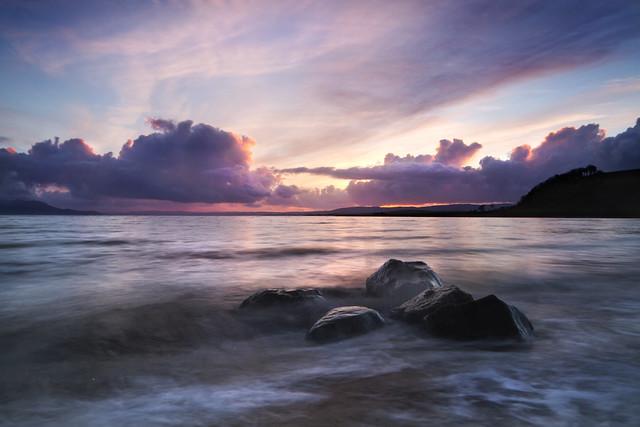 Ettrick bay sunset 1