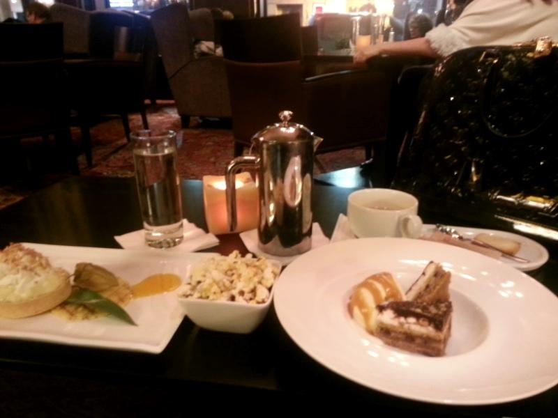 King Edward Hotel desserts