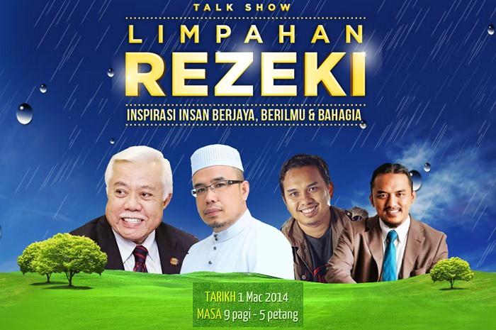 talk show limpahan rezeki, jootawanjannah, seminar jootawan, limpahan rezeki