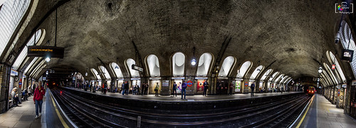 Baker Street tube station Panorama