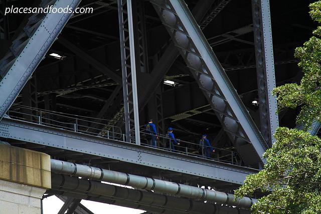 sydney harbour bridge lower bridge walk