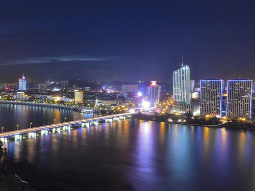 City: beautiful night
