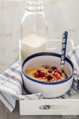 Porridge with Caramelized Quince Cranberries-0024