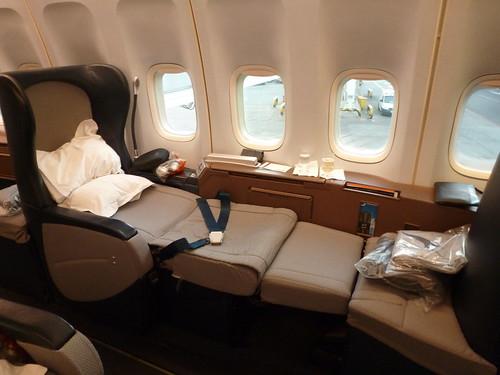 Qantas Airways Boeing 747-400 First Class Seat