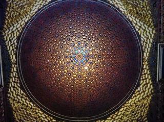 Cúpula del Salón de los Embajadores de los Reales Alcázares de Sevilla