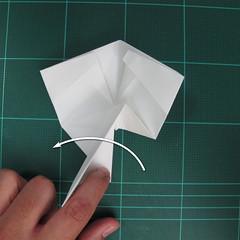 วิธีพับกระดาษเป็นรูปปลาแซลม่อน (Origami Salmon) 026