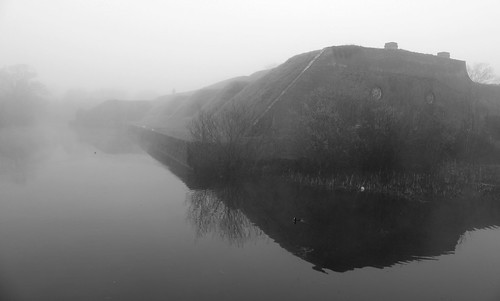 Fort Brockhurst, Misty Morning