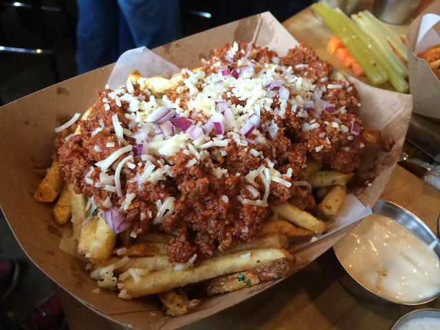 Chili fries - Hi Tops