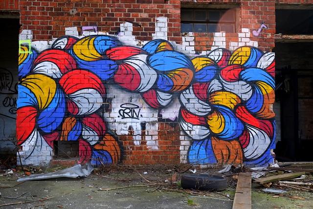 graffiti | crin | urbex | bärenquell brauerei