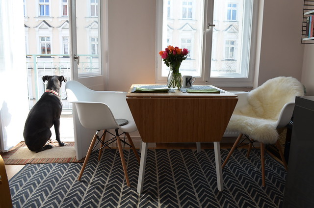 berlin apartment_ikea ps 2012 table knockoff eames vitra chairs