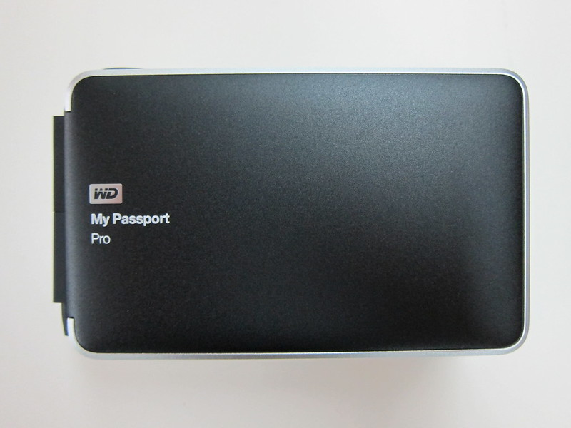 Western Digital My Passport Pro - Top