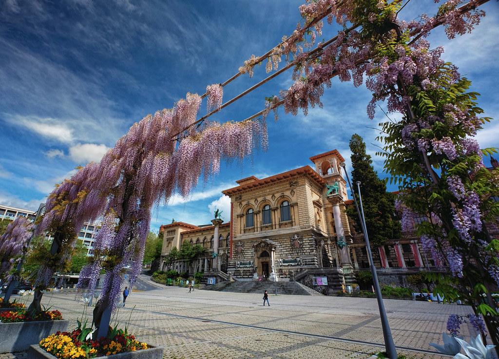 Palais de Rumine in Lausanne, Switzerland