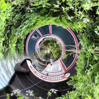 Walton riverside Tiny Planet effect