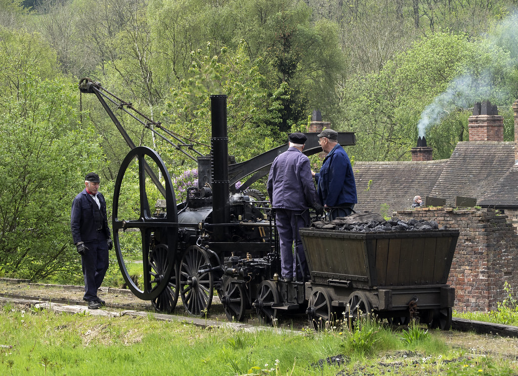 The Trevithick Locomotive 368  (88)