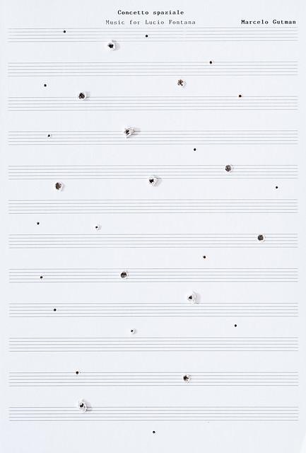 Concetto spaziale. Music for Lucio Fontana