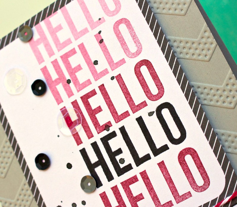 TERESA COLLINS DESIGN TEAM Hello Hello Card 2