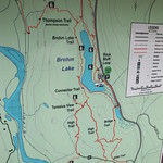 Brohm Lake Interpretative Forest Map