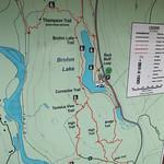 Brohm Lake Interpretative Forest Map