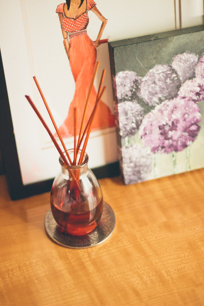 {do-it-yourself scented oil diffuser}