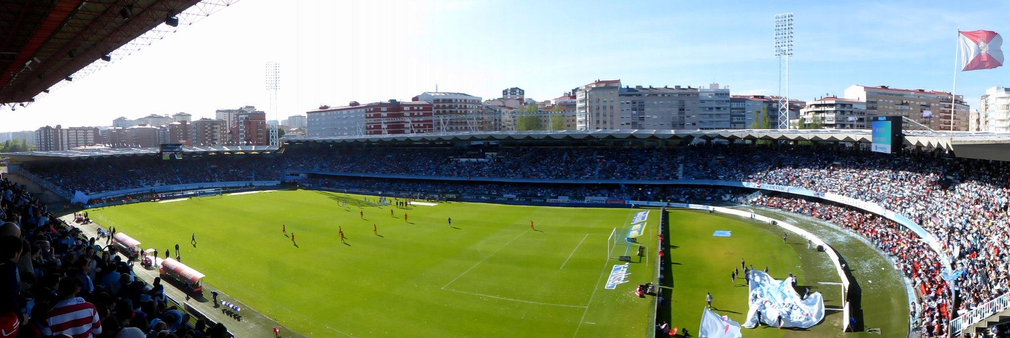 Balaídos lleno, Celta- R.Madrid