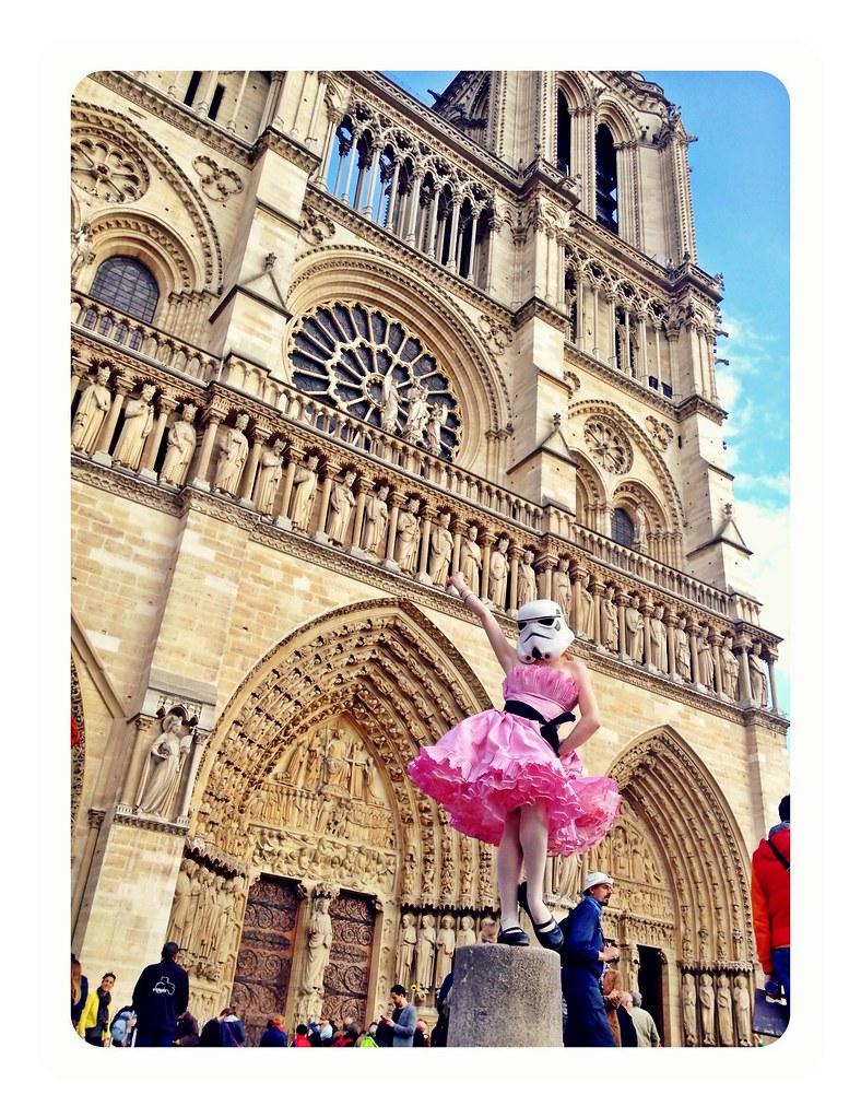 Redandjonny: the trooper of Notre Dame