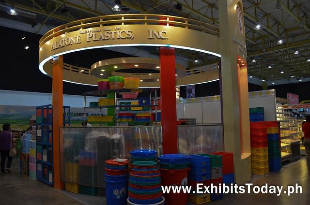 Alatone Plastics Trade Show Booth