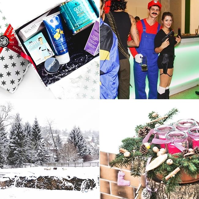 Instagram, Glossybox Dezember, Film Mottoparty, DIY Weihnachtskranz
