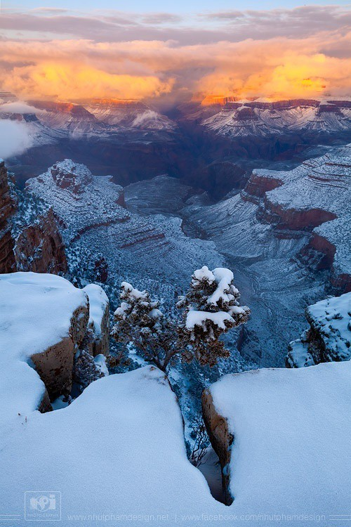 Grand Canyon Winter Wonderland 1