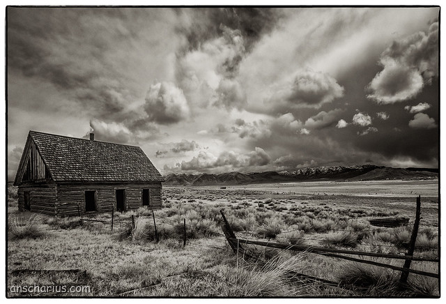 Ansgar Hillebrand - Idaho in Ansel Adams Style #1 - Infrared 700nm