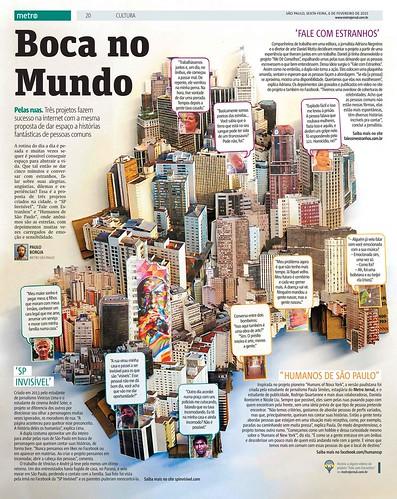 Boca no mundo - SP em papel - Metro SP / 2015
