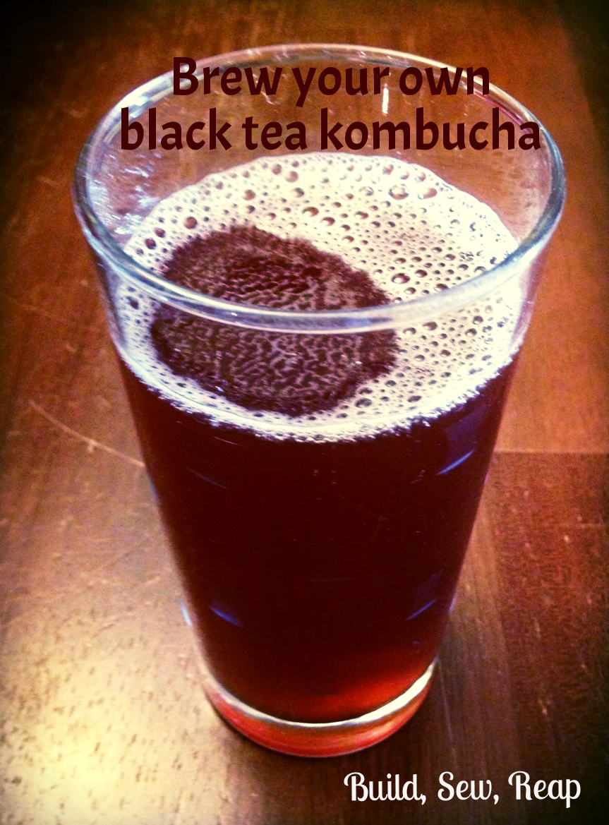 Making Kombucha by Julie @ Build, Sew, Reap