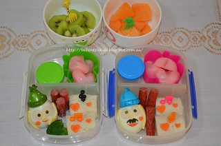 Mr. & Mrs. Potato Head Bento