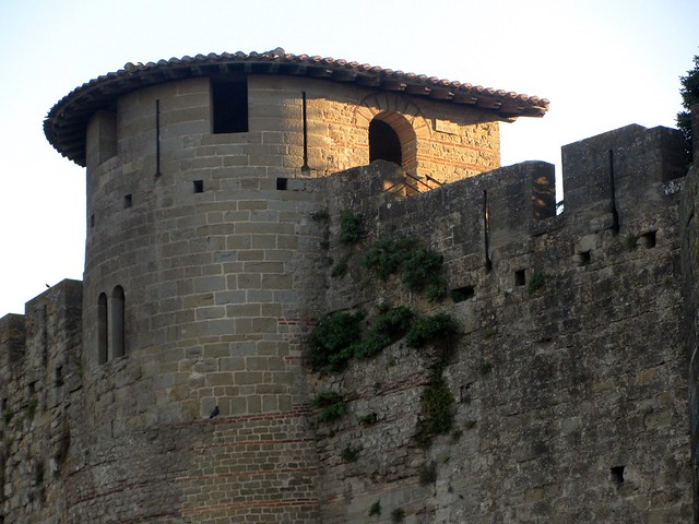 Visigoth / Roman Tower in Carcassonne