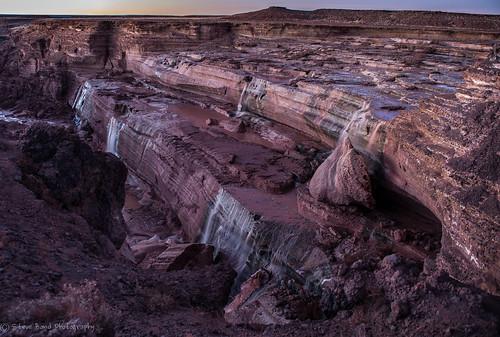 arizona waterfall flagstaff grandfalls chocolatefallsarizona