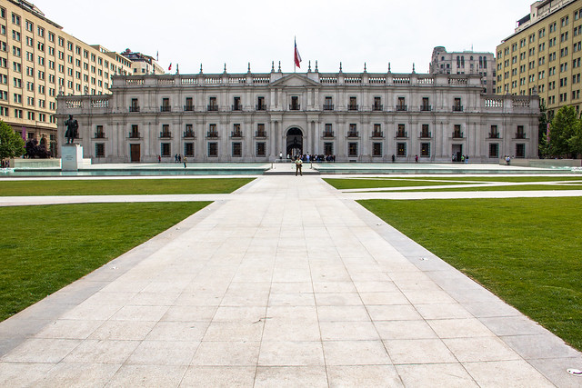 La Moneda Palace in Santiago Centro