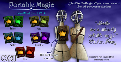 ::OXI:: Portable Magic Bookbag