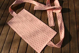 Tuto couture - bouillotte dorsale graines de lin - Etape 27