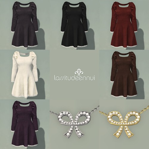 lassitude & ennui Vivianne dress