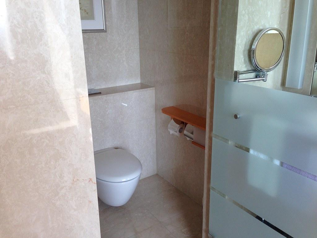 廁所@台中裕元花園酒店