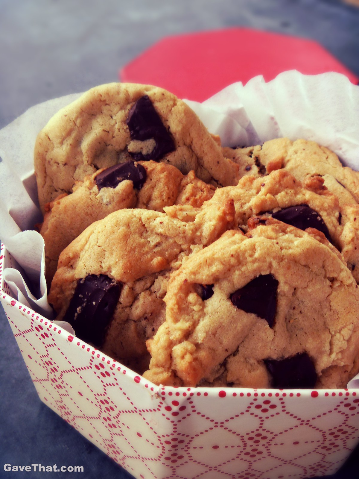Gourmet Thick Chewy Chocolate Peanut butter Chunk Cookies with the Recipe Below