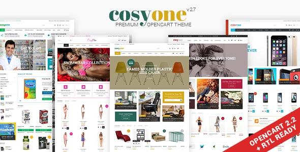 CosyOne v2.8 - Multipurpose Opencart Theme