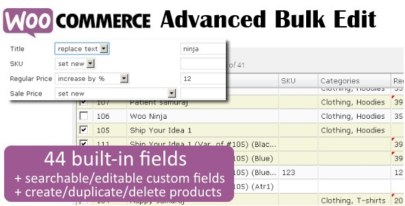 WooCommerce Advanced Bulk Edit v4.2.2