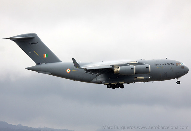INDIAN AIR FORCE C17 CB-8006