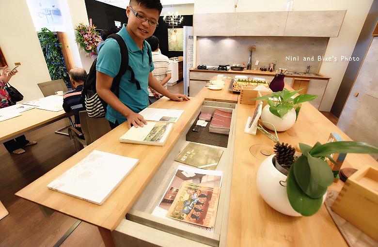 台中環中路家具沙發廚具系統櫃傢櫥周旻虹畫展44